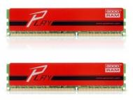 DDR3 2x4 Гб 1866 МГц Goodram Play Red (GYR1866D364L9A/8GDC)
