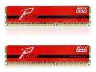 DDR3 2x4 Гб 1866 МГц Goodram Play Red (GYR1866D364L9A/8GDC)