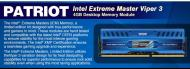 DDR3 4 Гб 1600 МГц Patriot Intel Extreme Masters (box) (PVI34G160C9)