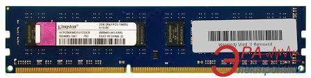 Оперативная память DDR3 2 Гб 1333 МГц Kingston (ACR256X64D3U1333C9)