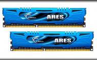 DDR3 2x4 �� 2400 ��� G.Skill ARES LP series Blue (F3-2400C11D-8GAB)