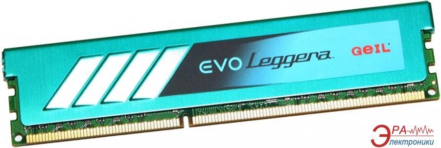 Оперативная память DDR3 4 Гб 1333 МГц Geil Leggera (GEL34GB1333C9SC)