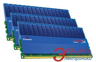 Оперативная память DDR3 3x1 Гб 1866 МГц Kingston Hyper X (KHX1866C9D3T1K3/3GX)