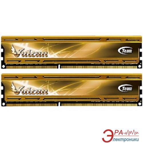 Оперативная память DDR3 2x8 Гб 1600 МГц Team Xtreem Vulcan Yellow (TLYD316G1600HC9DC01)
