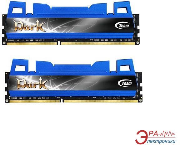 Оперативная память DDR3 2x8 Гб 1600 МГц Team Dark Blue (TDBD316G1600HC9DC01)