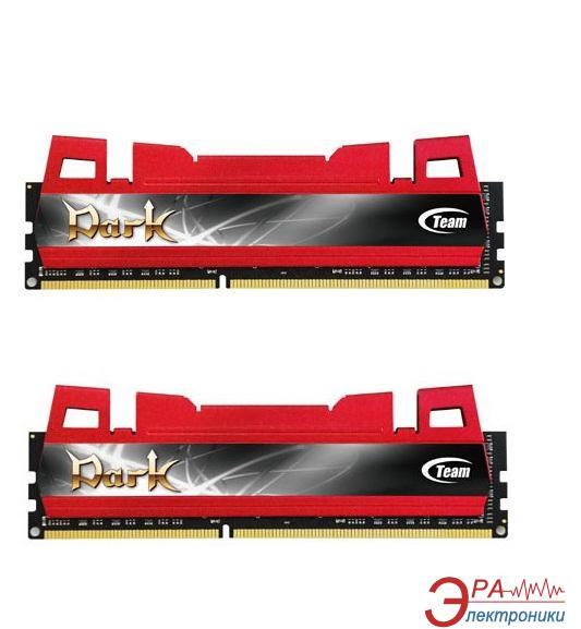 Оперативная память DDR3 2x8 Гб 1600 МГц Team Dark Red (TDRD316G1600HC9DC01)