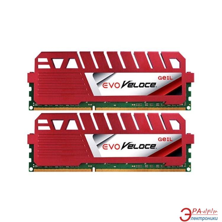 Оперативная память DDR3 2x4 Гб 2400 МГц Geil EVO Veloce (GEV38GB2400C11BDC)