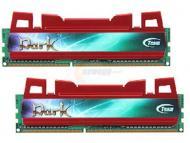 DDR3 2x4 �� 1600 ��� Team Xtreem Dark RED, (TDRD38G1600HC9DC01)