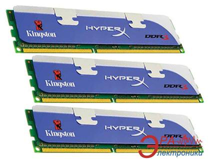 Оперативная память DDR3 3x2 Гб 1600 МГц Kingston HiperX (KHX1600C9D3K3/6GX)
