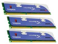 DDR3 3x2 Гб 1600 МГц Kingston HiperX (KHX1600C9D3K3/6GX)