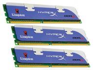 DDR3 3x1 Гб 1800 МГц Kingston Hyper X (KHX1800C9D3K3/3GX)