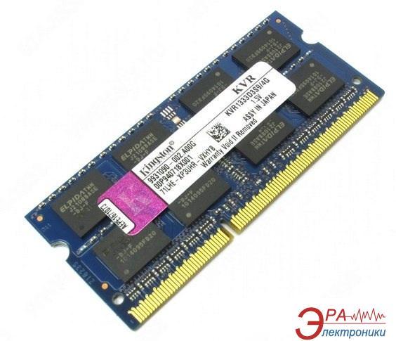 Оперативная память SO-DIMM DDR3 4 Gb 1333 МГц Kingston (KVR1333D3S9/4G)