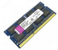 SO-DIMM DDR3 4 Gb 1333 ��� Kingston (KVR1333D3S9/4G)