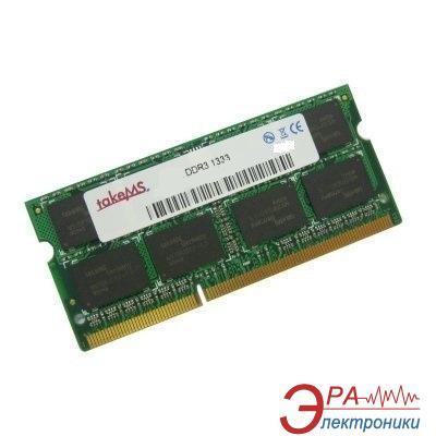 Оперативная память SO-DIMM DDR3 2 Gb 1333 МГц TakeMS
