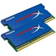 Оперативная память SO-DIMM DDR3 2*4 Gb 1600 МГц Kingston HyperX (KHX1600C9S3K2/8GX)