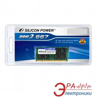 Оперативная память SO-DIMM DDR2 2 Gb 667 МГц Silicon Power