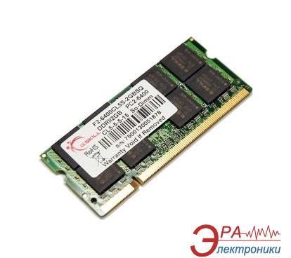 Оперативная память SO-DIMM DDR2 2 Gb 800 МГц G.Skill (F2-6400CL5S-2GBSQ)