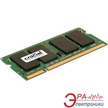 Оперативная память SO-DIMM DDR2 1 Gb 800 МГц Crucial (CT25664AC800)