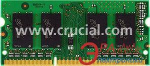Оперативная память SO-DIMM DDR3 4 Gb Crucial (CT51264BF1339)