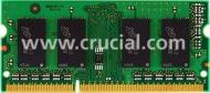 SO-DIMM DDR3 4 Gb Crucial (CT51264BF1339)