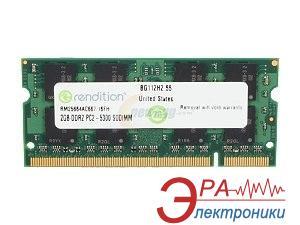 Оперативная память SO-DIMM DDR2 2 Gb 667 МГц Micron Rendition (RM25664AC667)