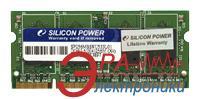 Оперативная память SO-DIMM DDR2 1 Gb 533 МГц Silicon Power (SP001GBSRU533S02) BULK