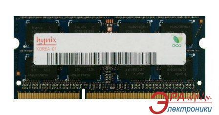 Оперативная память SO-DIMM DDR3 4 Gb 1333 МГц Hynix Original (HMT351S6BFR8C-H9N0)