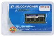 Оперативная память SO-DIMM DDR 1 Gb 333 МГц Silicon Power (SP001GBSDU333O02)