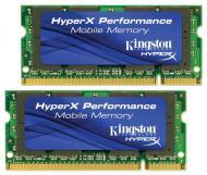 SO-DIMM DDR3 2*2 Gb 800 ��� Kingston (KHX6400S2ULK2/4G)