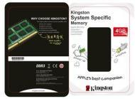 SO-DIMM DDR3 4 Gb 1333 МГц Kingston для ноутбуков APPLE (KTA-MB1333/4GRR)