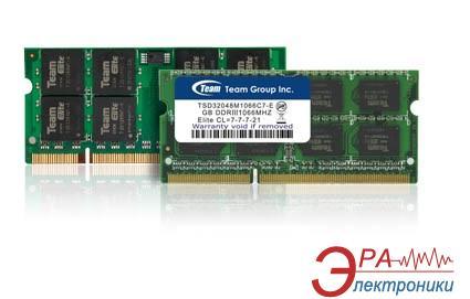 Оперативная память SO-DIMM DDR3 8 Gb 1600 МГц Team (TED38G1600C11-S01)