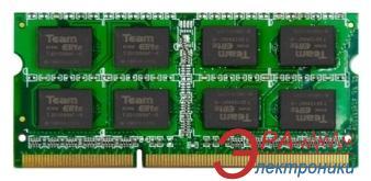 Оперативная память SO-DIMM DDR3 2 Gb 1600 МГц Team (TED32G1600C11-S01)