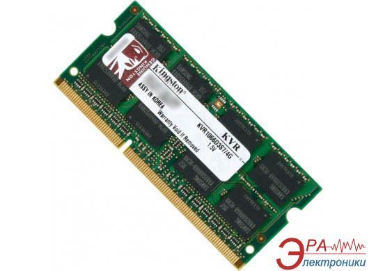 Оперативная память SO-DIMM DDR3 4 Gb 1066 МГц Kingston (KVR1066D3S7/4G)