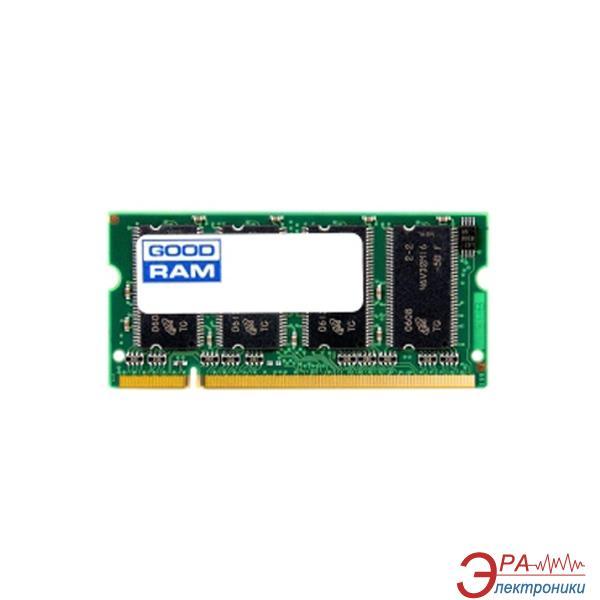 Оперативная память SO-DIMM DDR 1 Gb 333 МГц Goodram (GR333S64L25/1G)