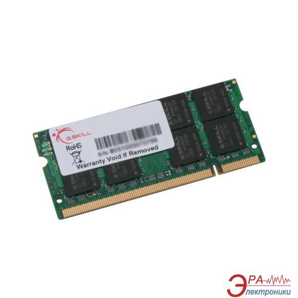 Оперативная память SO-DIMM DDR2 1 Gb 800 МГц G.Skill (FA-6400CL5S-1GBSQ)