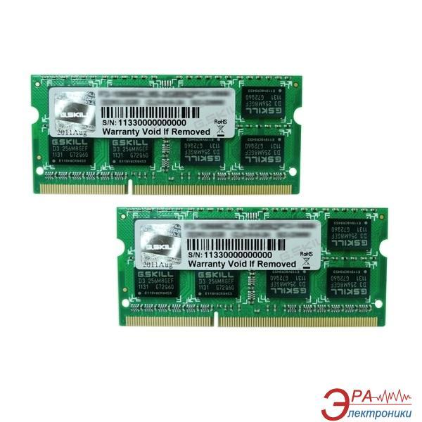 Оперативная память SO-DIMM DDR3 2*8 Gb 1600 МГц G.Skill (F3-1600C10D-16GSQ)