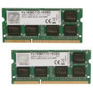 SO-DIMM DDR3 2*8 Gb 1600 МГц G.Skill (F3-1600C11D-16GSQ)