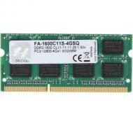 SO-DIMM DDR3 4 Gb 1600 МГц G.Skill (FA-1600C11S-4GSQ)