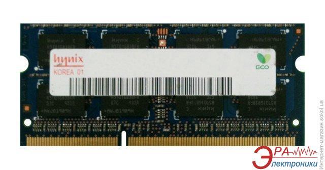 Оперативная память SO-DIMM DDR3 1 Gb 1066 МГц Hynix original (HMT112S6BFR6C-G7)