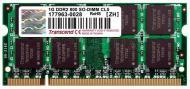 SO-DIMM DDR2 1 Gb 800 ��� Transcend Jetram