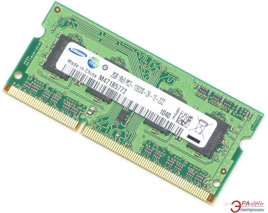 Оперативная память SO-DIMM DDR3 2 Gb 1333 МГц Samsung (M471B5773DHO)