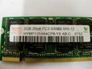 SO-DIMM DDR2 2 Gb 667 МГц Hynix original (HYMP125S64CP8-Y5)