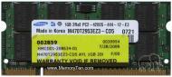 Оперативная память SO-DIMM DDR2 1 Gb 800 МГц Samsung (M470T2953EZ3-CD5)