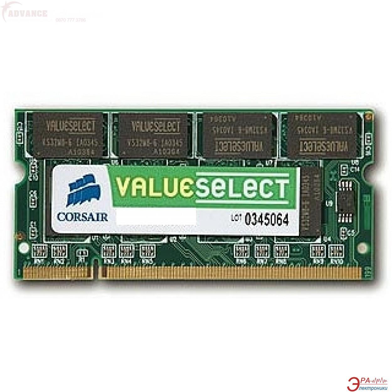 Оперативная память SO-DIMM DDR2 2 Gb 667 МГц Corsair (VS2GSDS667D2)