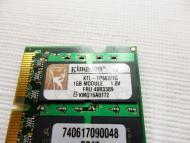SO-DIMM DDR2 1 Gb 667 МГц Kingston (KTL-TP667/1G)