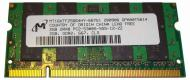 SO-DIMM DDR2 2 Gb 667 ��� Micron (MT16HTF25664HY-667G1)