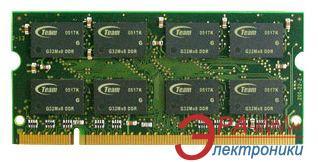 Оперативная память SO-DIMM DDR2 2 Gb 800 МГц Team (TSDD2048M800C5-E)