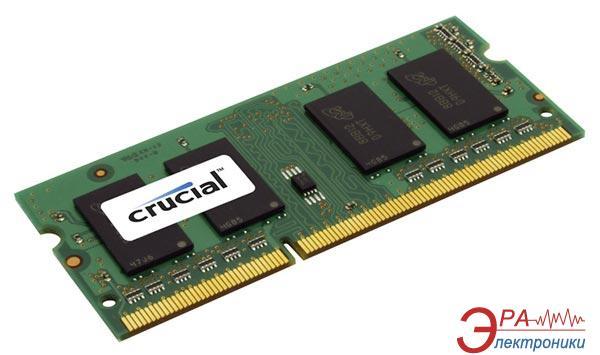 Оперативная память SO-DIMM DDR3L 8 Gb 1600 МГц Crucial for Mac (CT8G3S160BMCEU)