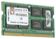 SO-DIMM DDR3 2 Gb 1333 ��� Kingston (KVR1333D3S9/2G)