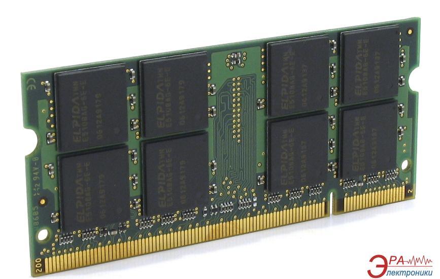 Оперативная память SO-DIMM DDR2 2 Gb 800 МГц Kingston (KVR800D2S6/2G)